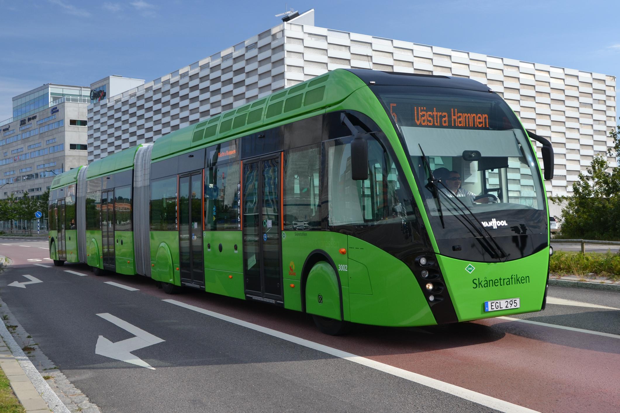 Skal busserne køres på madaffald?