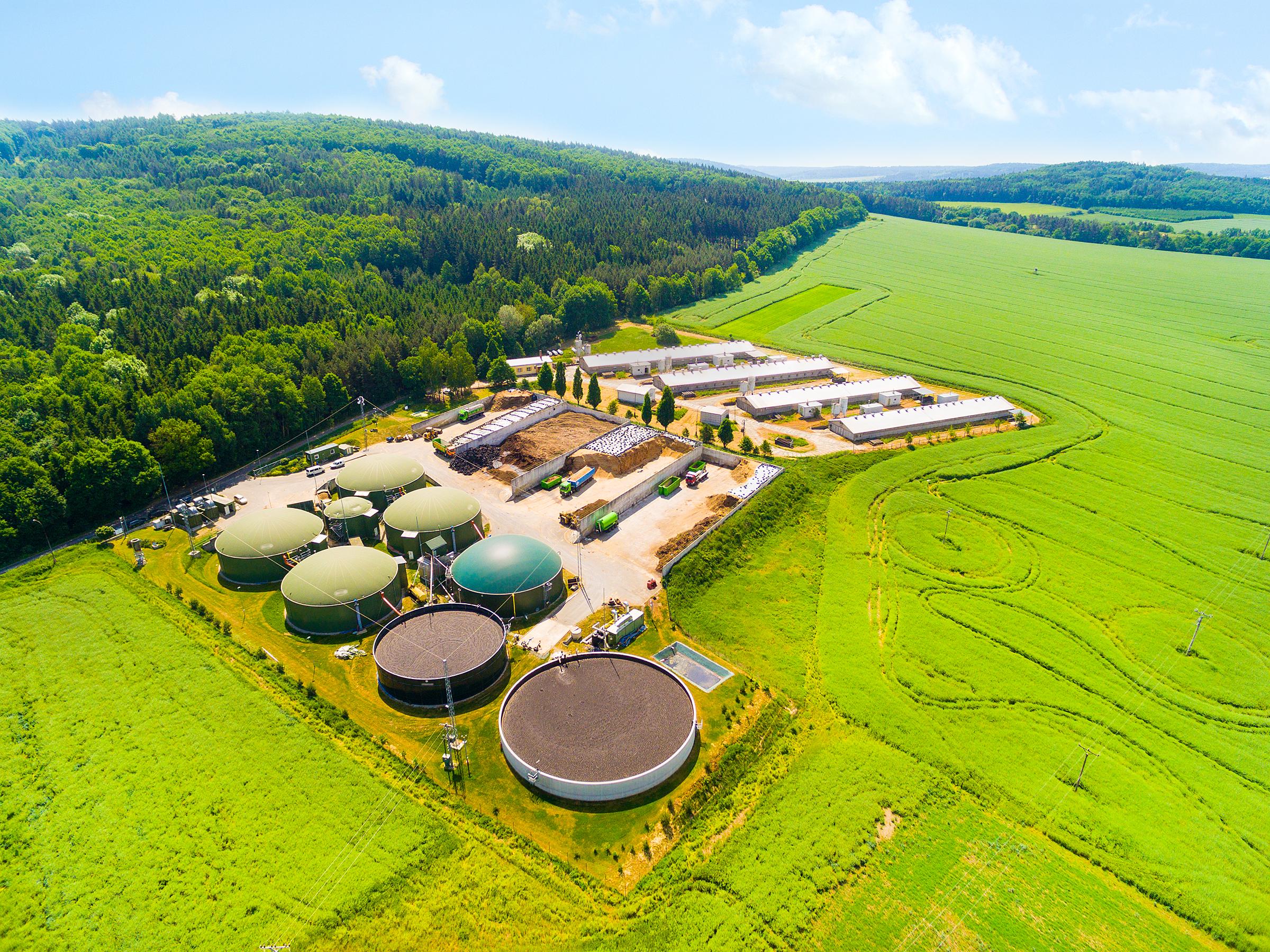 Landets største biogasanlæg ligger i Sønderjylland